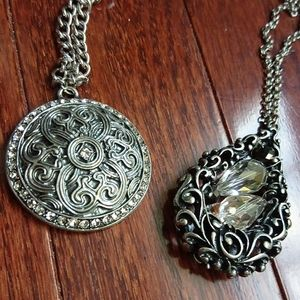 Filigree necklace bundle